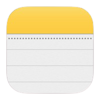 Apple Notes logo